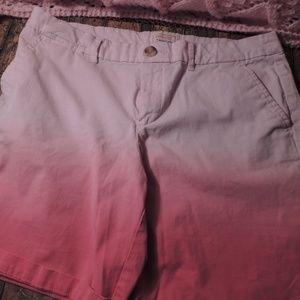Khakis by GAP Boyfriend shorts size 6 pink